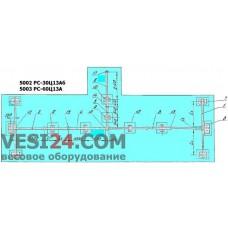 Весы автомобильные 60 тонн, 80 тонн, механические - РС60Ц13 (АЦ60)