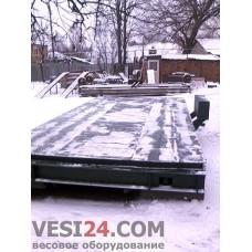 Весы автомобильные бесфундаментные передвижные РП20Ш13, 15-20 тонн
